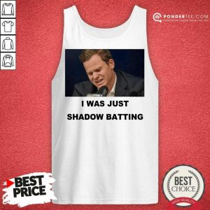 Awesome Steve Smith Just Shadow Batting 56 Tank Top