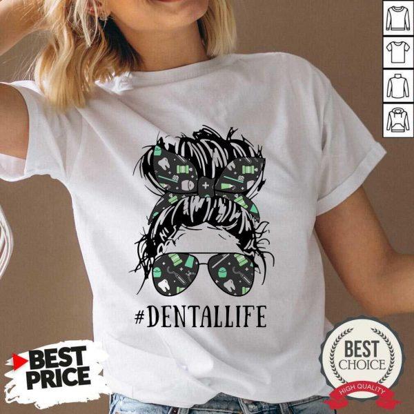 Women Dental Life V-neck - Desisn By Pondertee.com