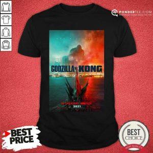 Funny Logo Godzilla Vs Kong Shirt