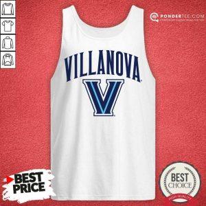 Good Alex Villanova Wildcats Logo Performance 89 Tank Top