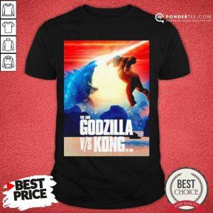 Happy The God Godzilla Vs Kong The King 2021 Shirt