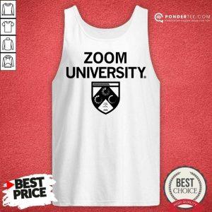 Happy Zoom University Comfortable 25 Tank Top