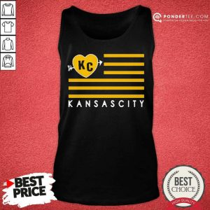 Hot KC Kansas City Football Tank Top