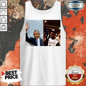 Nice Barack Obama Lauded Hank Aaron Tank Top