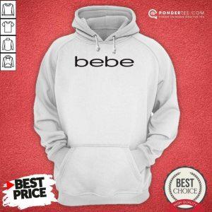 Nice Bebe Bebes Bebe Logo 55 02 Hoodie
