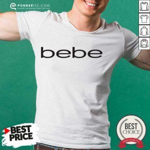Nice Bebe Bebes Bebe Logo 55 02 Shirt