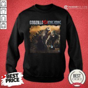 Nice Classic Godzilla Vs King Kong New Tee Sweatshirt