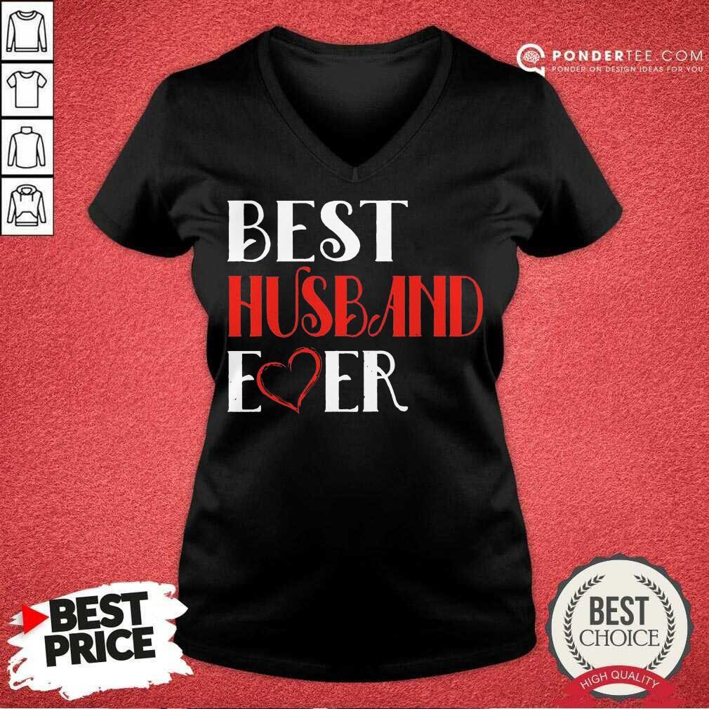 Official Best Husband Ever 46 V-neck