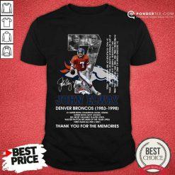 Official John Elway 1983 Shirt