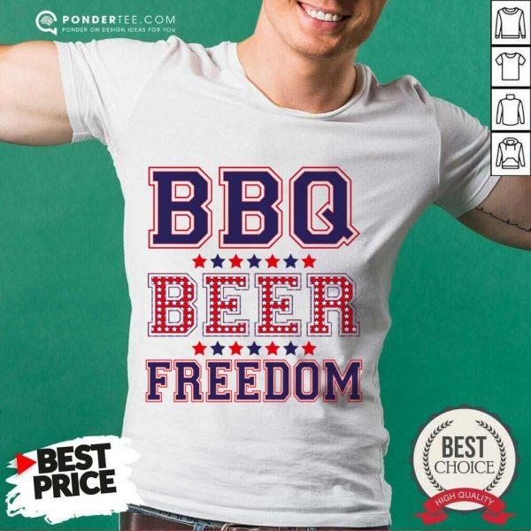 Original BBQ Beer Freedom 46 Shirt