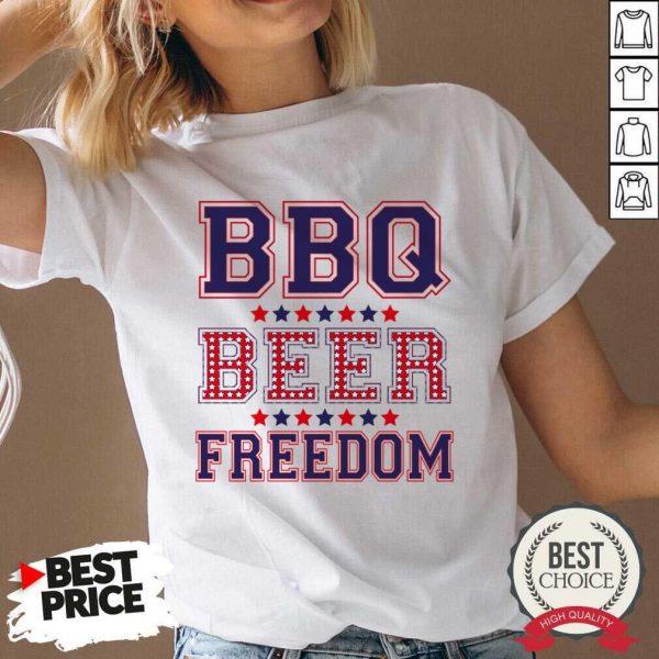 Original BBQ Beer Freedom 46 V-neck