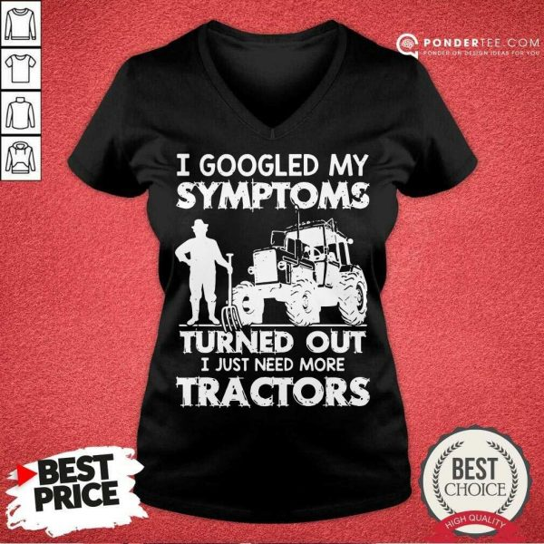 Original Symptoms Turns Out Need Tractors 38 V-neck