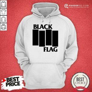 Perfect Black Flag Bars And Logos 79 Hoodie