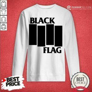 Perfect Black Flag Bars And Logos 79 Sweatshirt
