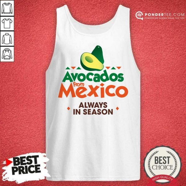 Pretty Avocados From Mexico 888 Tank Top