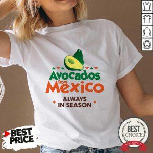 Pretty Avocados From Mexico 888 V-neck