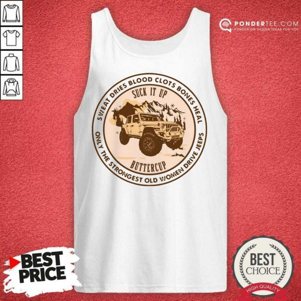Pretty Sweat Suck It Up Buttercup 45 Tank Top
