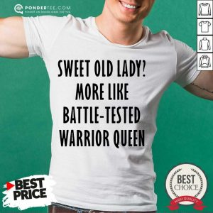 Pretty Sweet Like Battle Tested Warrior Queen Shirt