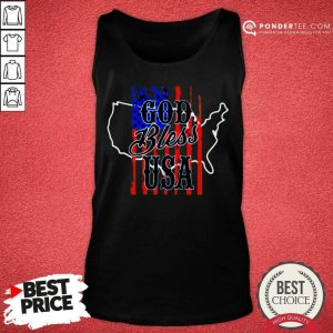 Top Lee Greenwood God Bless USA Tank Top