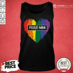 Awesome Proud Mimi Rainbow Grandma LGBT 02 Tank Top