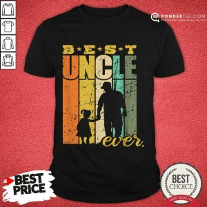 Good Best Uncle Ever Uncle And Niece 3030 Shirt