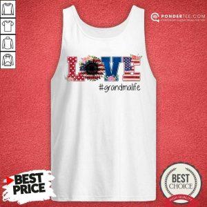 Good Love Grandma Life American Flag 45 Tank Top