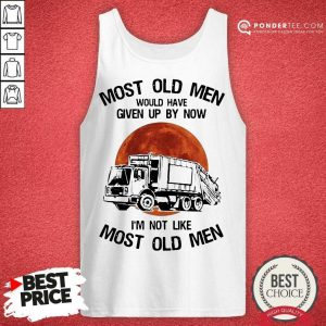 Happy Most Old Men Waste Collector Moon Blood 2 Tank Top