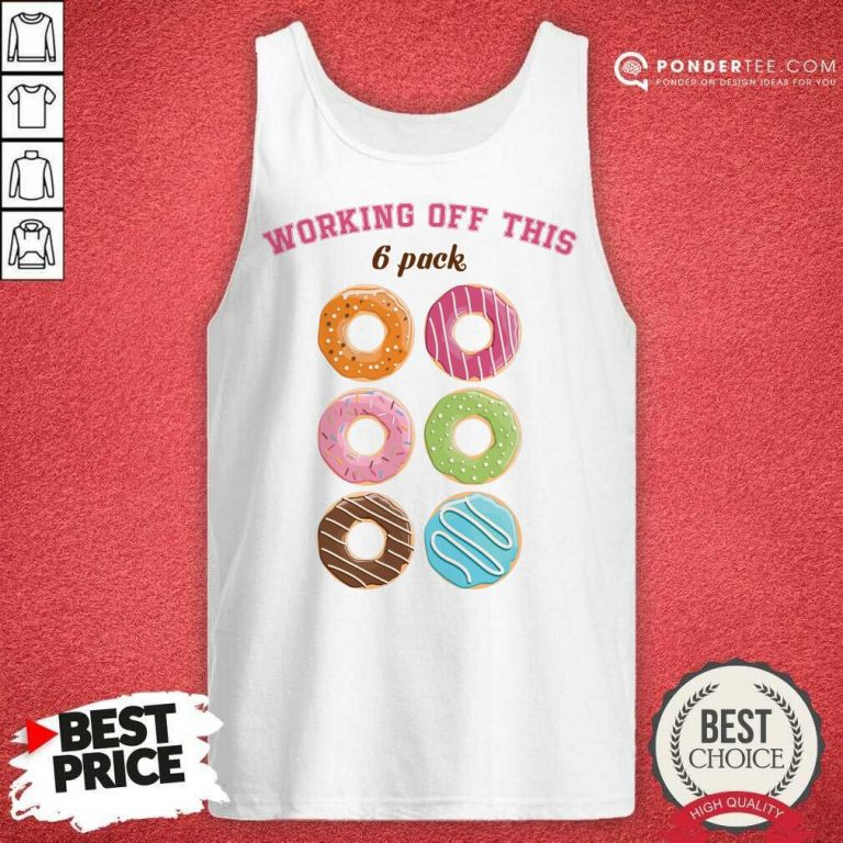 Hot Dounut Working Off This 6 Pack Fitness Tank Top
