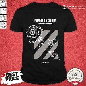 Nice Twenty4tim Shop Merch Rose 55055 Shirt