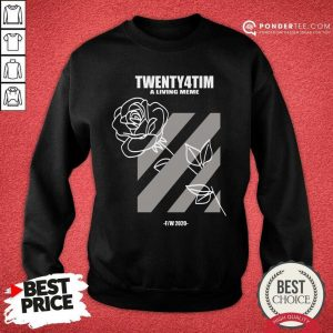 Nice Twenty4tim Shop Merch Rose 55055 Sweatshirt