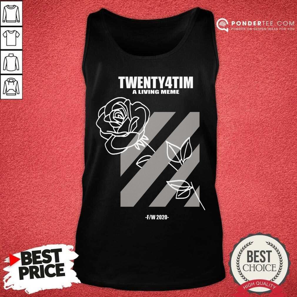Nice Twenty4tim Shop Merch Rose 55055 Tank Top
