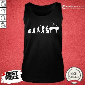Official Evolution Pianist Gift Music Musician Piano 606 Tank Top