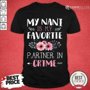 Original My Nani Is My Favorite Partner 89 Shirt