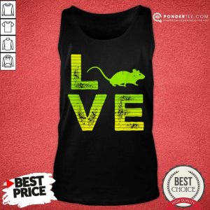 Premium I Love Mouse Mice Loving Boys And Girls 606 Tank Top