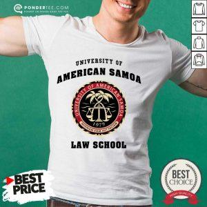 Premium University of American Samoa Law School Shirt