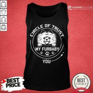 Pretty My Furbaby Circle Of Trust Pomeranian Dog 99 Tank Top