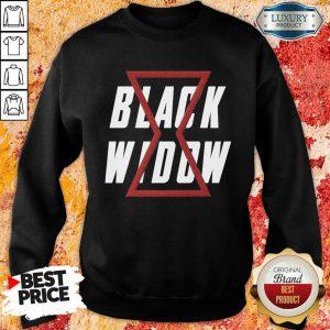 Awesome Black Widow Sweatshirt