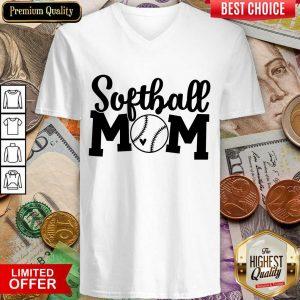 Fantastic Softball Mom V-neck