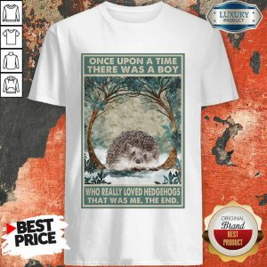 Hot Hedgehog Once Upon A Time Boy Vertical Poster Shirt