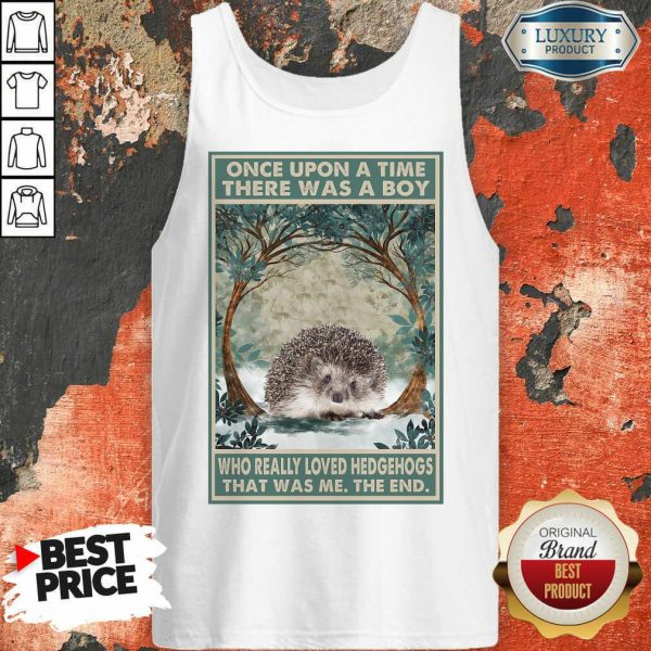 Hot Hedgehog Once Upon A Time Boy Vertical Poster Tank Top
