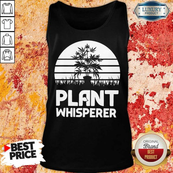 Pretty Cannabis Plant Whisperer Tank Top