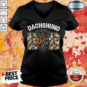 Pretty Dog Dachshund V-neck