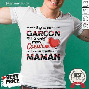 A Ce Garcon Qui A Vole Coeur Maman Shirt