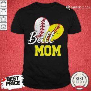Ball Mom Softball Shirt