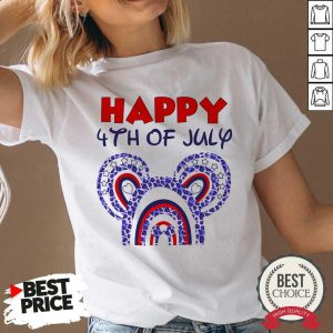 Happy Independence Day of America 4th Of July V-neck