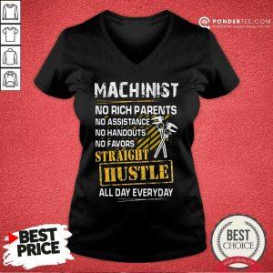 Machinist Straight Hustle Everyday V-neck