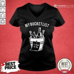 My Bucket List V-neck