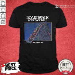 Boardwalk And Baseball Shirt
