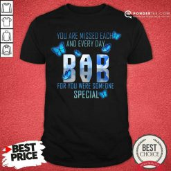 Butterflies You're Missed Each And Everyday Dad Shirt
