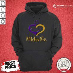 Happy Heart Midwife Hoodie
